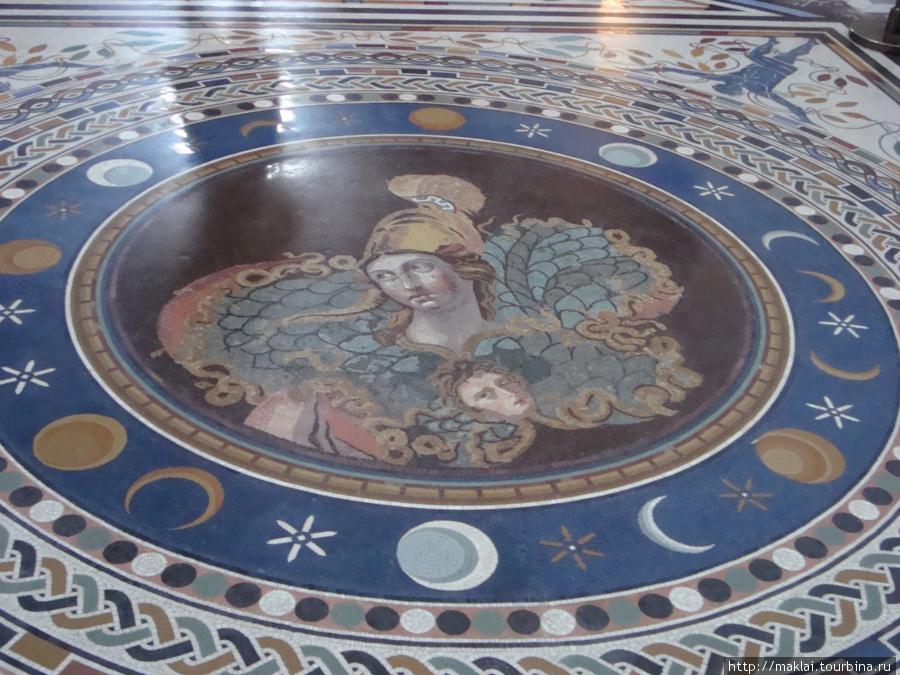 Ватиканский музей. Древнеримская мозаика.