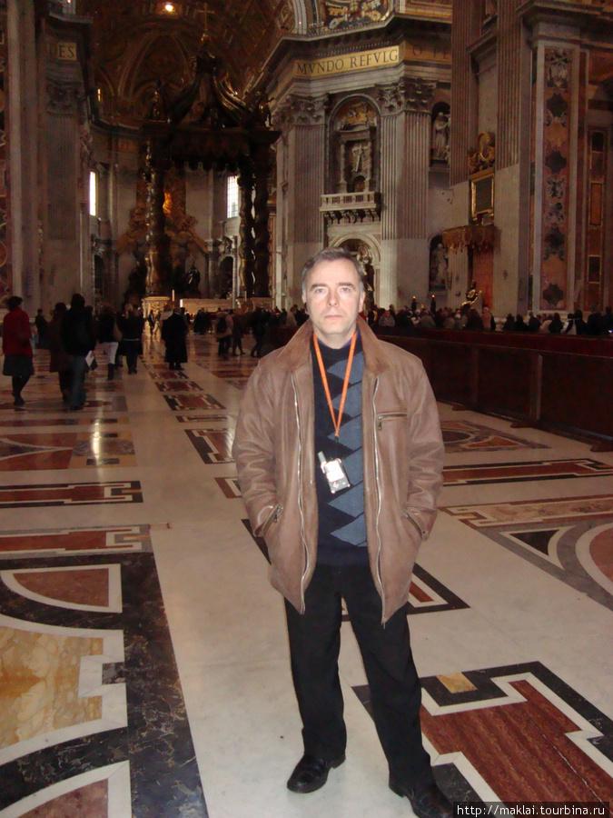 Ватикан. Интерьер собора Св.Петра.