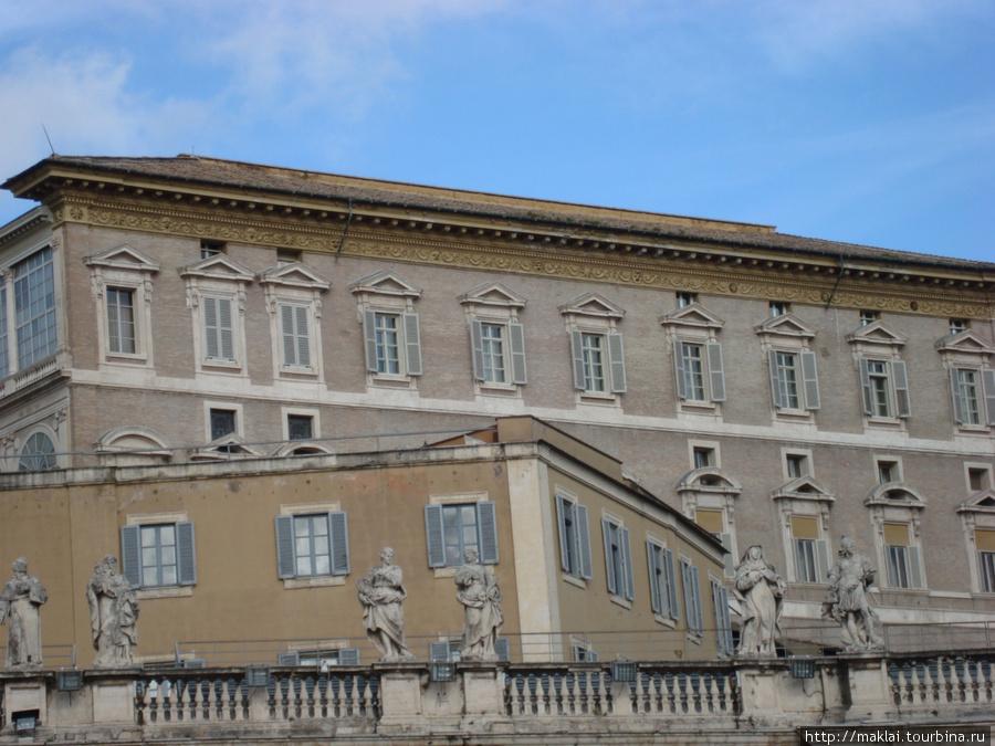 Ватикан. Папские кабинеты.