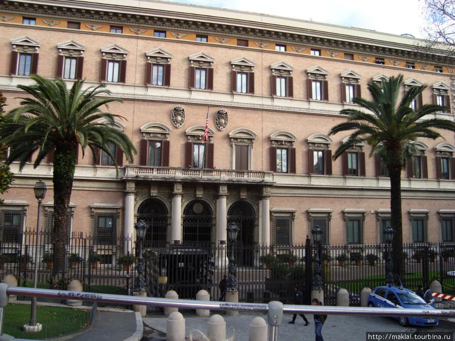Рим. Дворец императрицы М