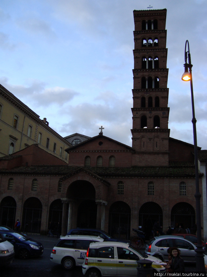 Рим. Церковь Санта Мария ин Космедин.