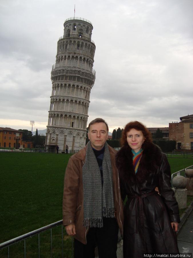 Пиза. Пизанская башня.