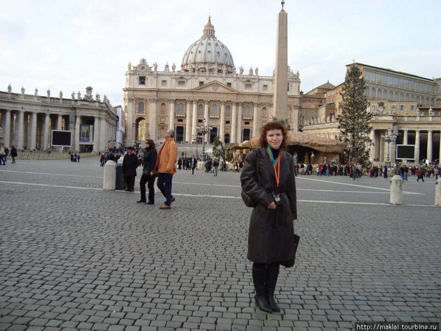 Ватикан. Собор и площадьСв.Петра