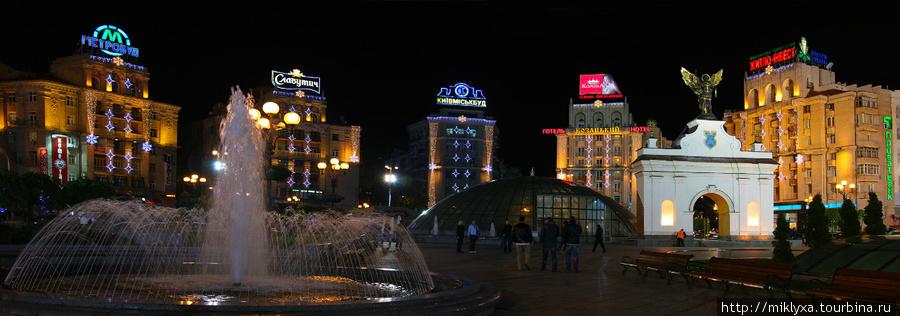 Пло́щадь Незави́симости (укр. Майдан Незалежності, разговорный вариант — Майдан) — главная площадь Киева.