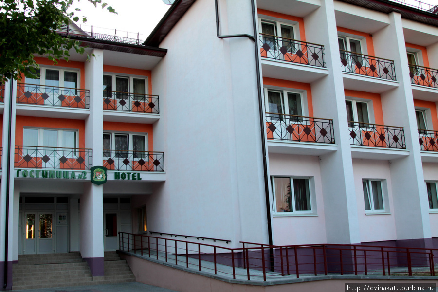 Гостиница в деревне Каменюки, на границе с Беловежской пущей