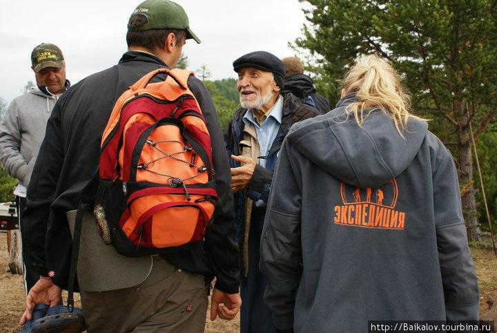 Николай николаевич рассказывает о Байкале