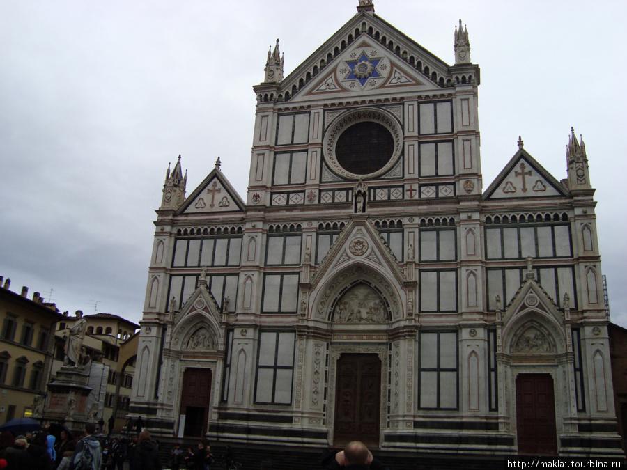 Флоренция. Собор Санта Кр