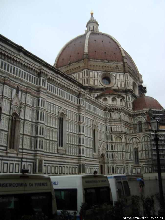 Флоренция. Собор Санта Мария дель Фиоре. Купол Брунеллески.