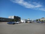 Привокзальная площадь и вокзал станции Петропавловск