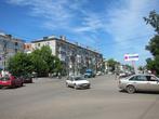 перекресток улиц Интернациональная и Жабаева