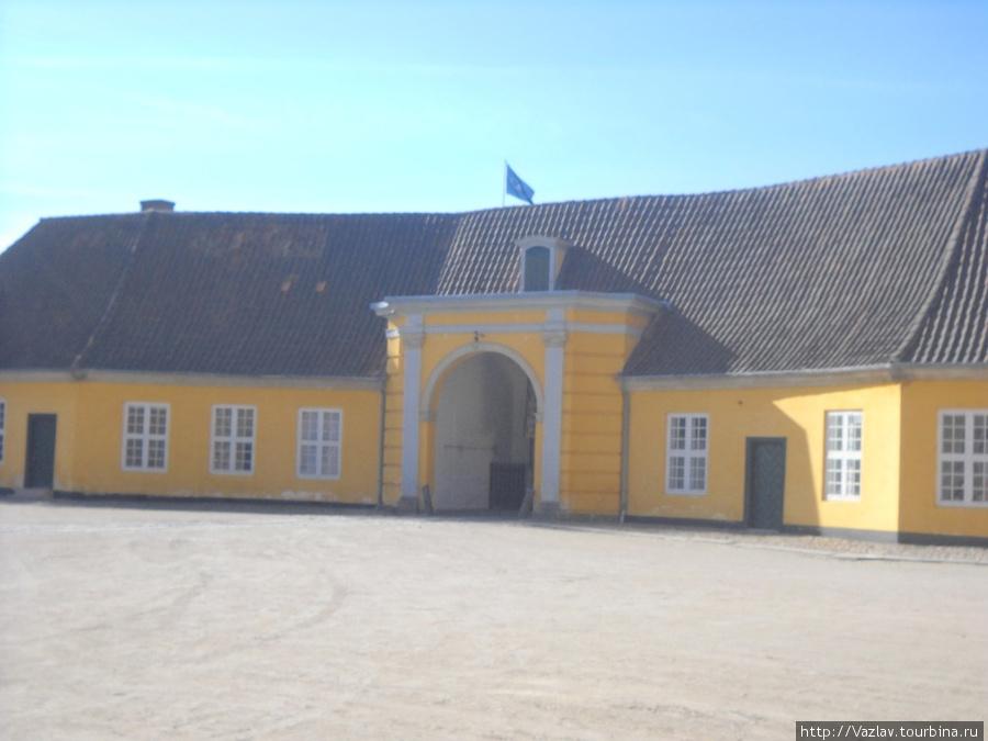Внутренний дворик королевского дворца