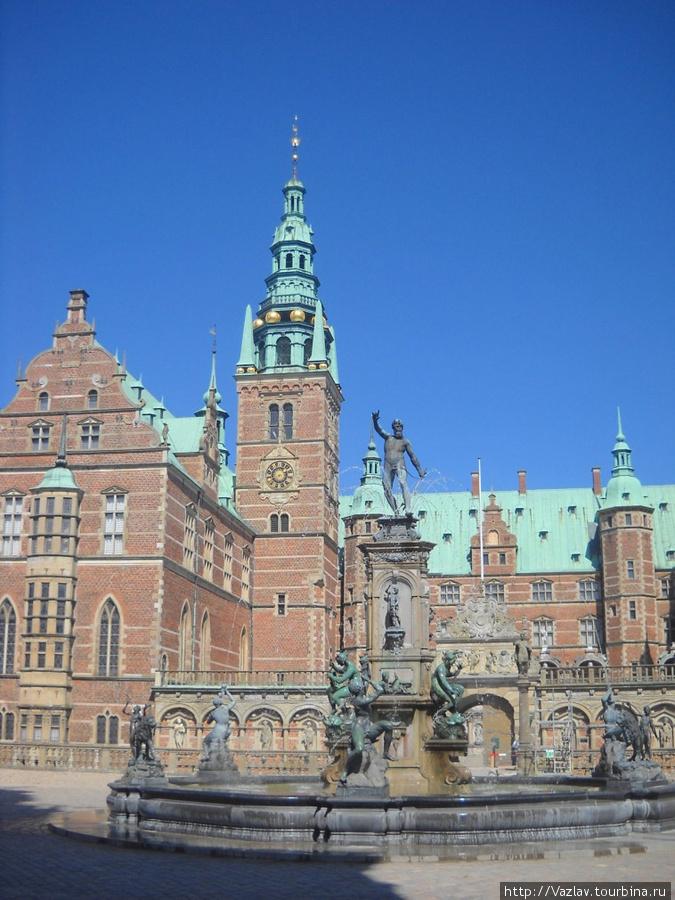 Панорамный снимок Хиллерёд, Дания
