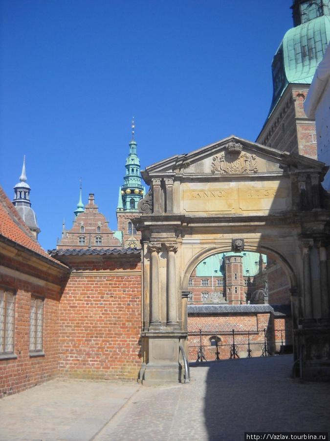 Ворота Хиллерёд, Дания
