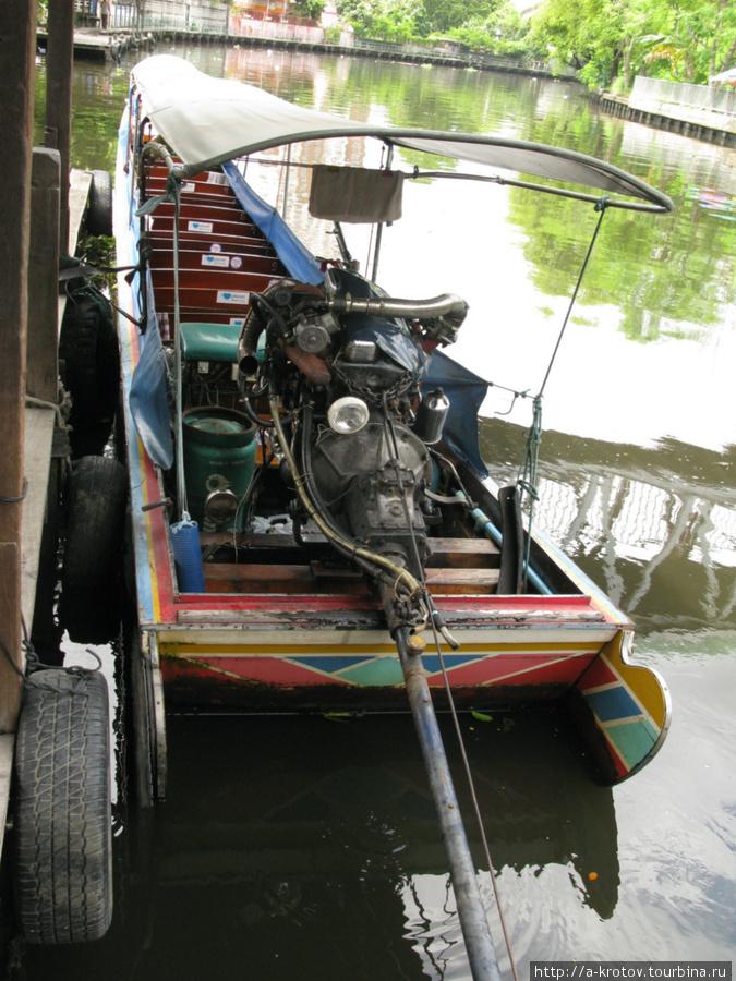 мотор от автомобиля на лодку