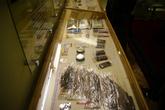 Музейные экспонаты. Образцы питания, которые космонавты брали с собой в полет.