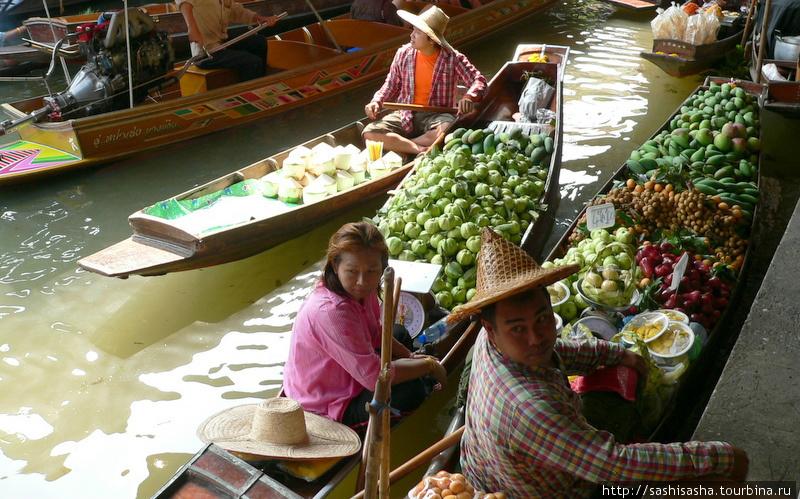 Дамноен Судак  плавучий рынок в Бангкоке  фото отзывы