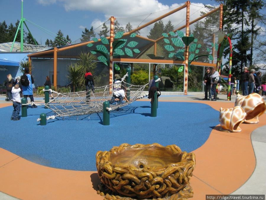 Детская игровая площадка.
