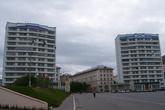 Дома-башни — ворота города.