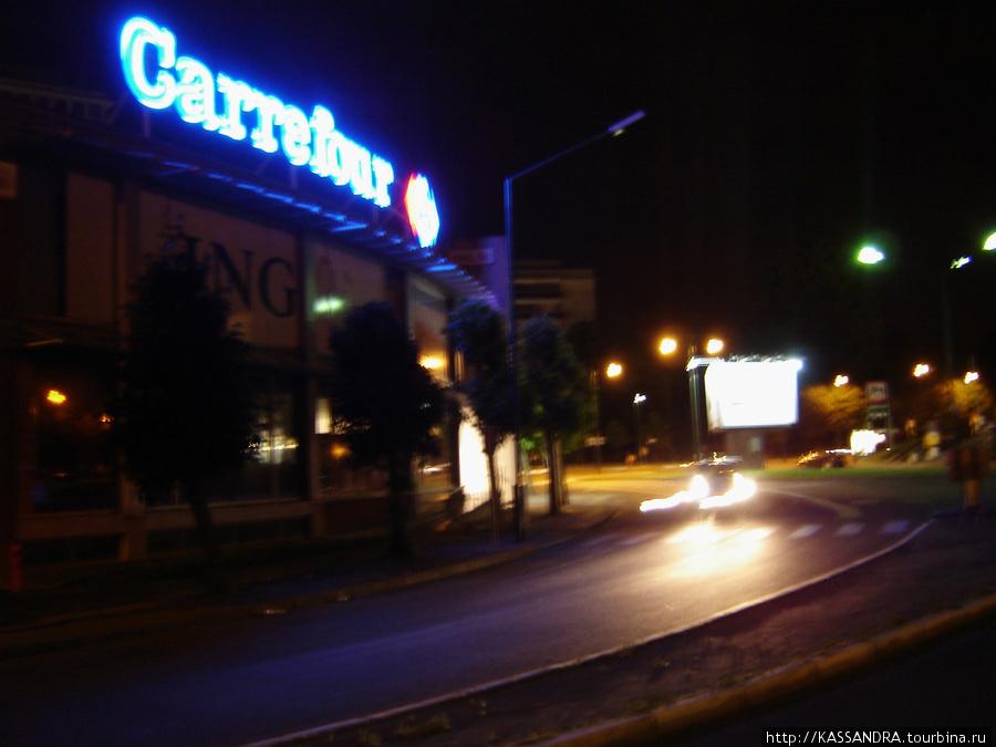 Carrefour в Брюсселе