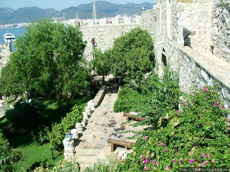 Крепость в Мармарисе