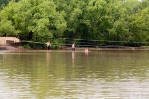 Переправа через озеро