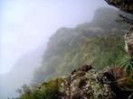 Временами ничего не видно из-за мнгновенно опустившегося тумана