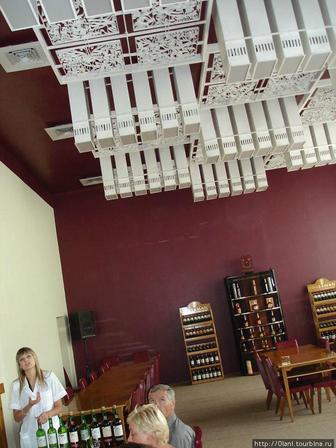 Дегустационный зал Инкерм