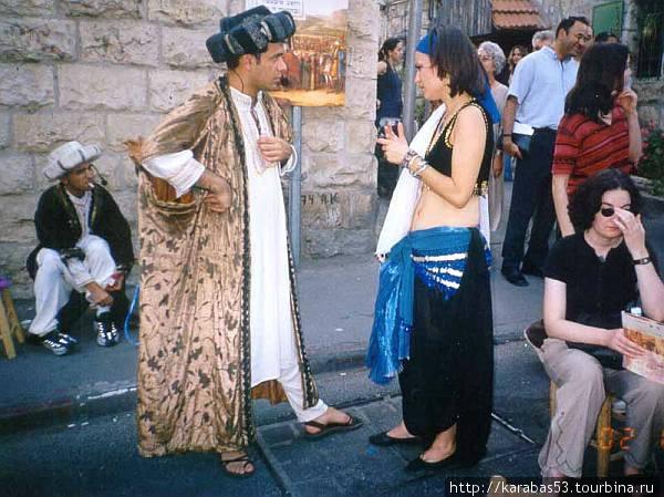 шейх и танцовщица