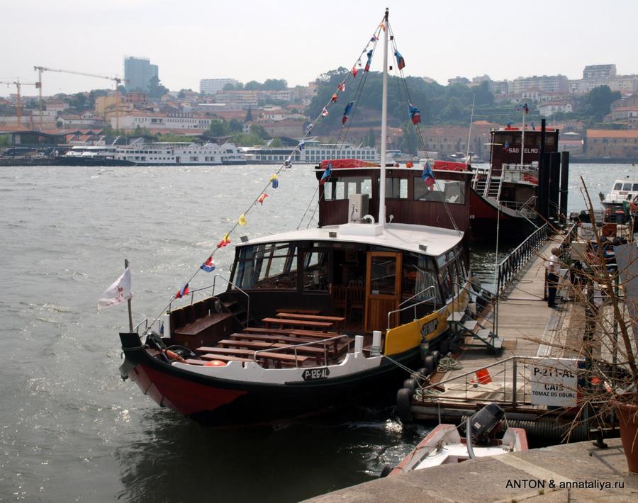Лодка, на которой мы плавали по Дору