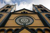 Новая церковь была освещена 4 марта 1826 года. Но шло время, здание ветшало и, наконец, перестало отвечать требованиям безопасности. 1 января 1883 году был заложен алтарный камень современного собора на том же самом месте.