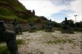 Рыцари у подножья Гори-сцихе