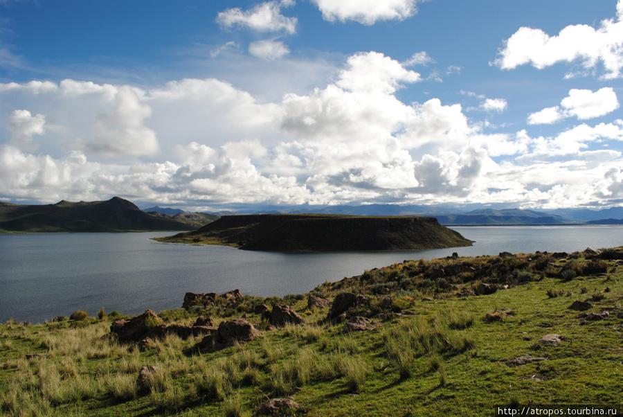 озеро Умайо, п-ов Сильюстани