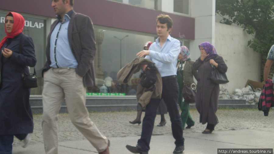 Жители Стамбула