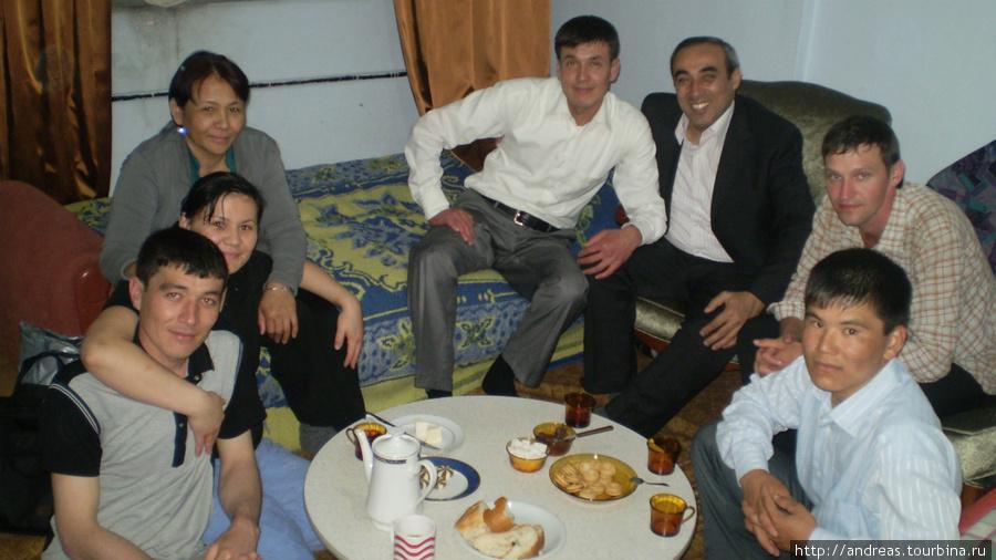 В гостях у туркменов