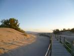 пляж Риомар вечером.