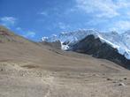 Подъем на Чукхунг-Ри (5535 метров). Впереди — гребень Нупцзе