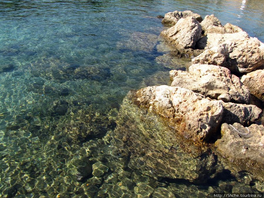 ...но чистейшая морская вода