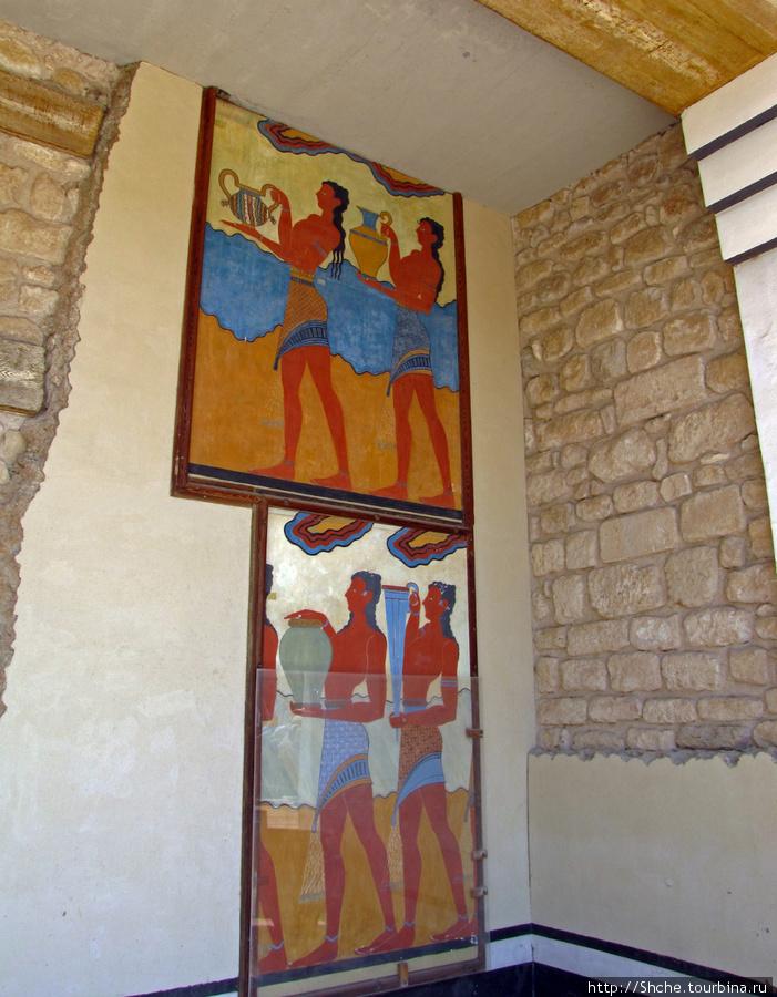 восстановленные фрески