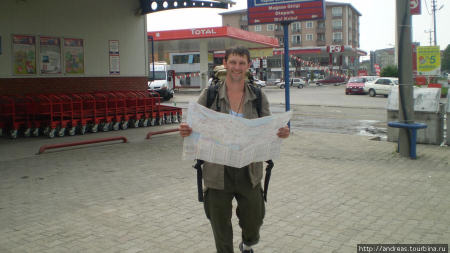 Карту можно взять на заправке