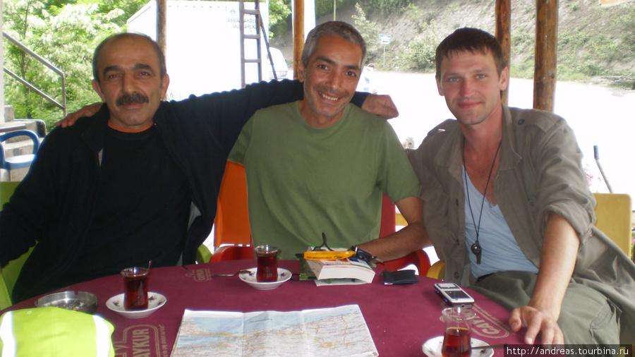 Турок,француз и русский