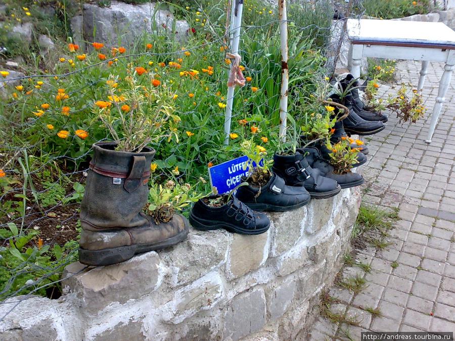 Нашли применение старой обуви
