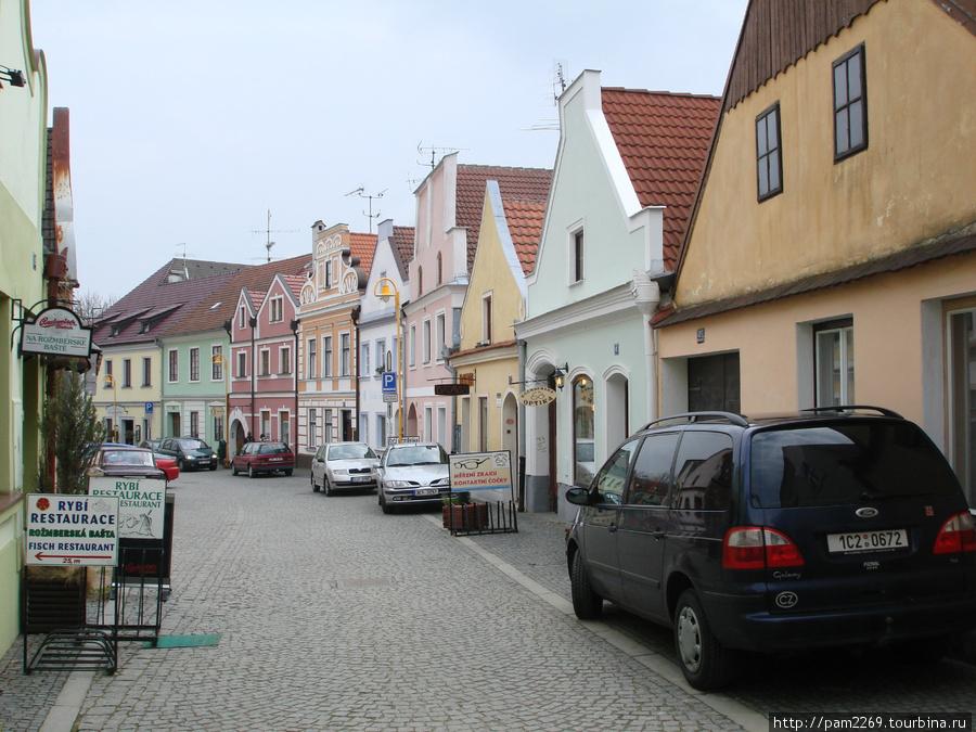 улочки центра города