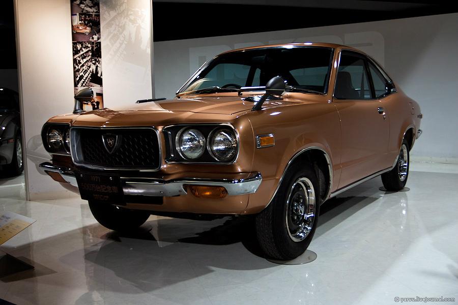 Mazda RX-3 Savanna (1971 г.). В 1972 году этот автомобиль победил в гонках Japanese Grand Prix и не дал своему конкуренту Nissan GT-R завершить серию в 50 побед подряд.