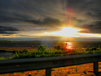 закат на Пальеозере