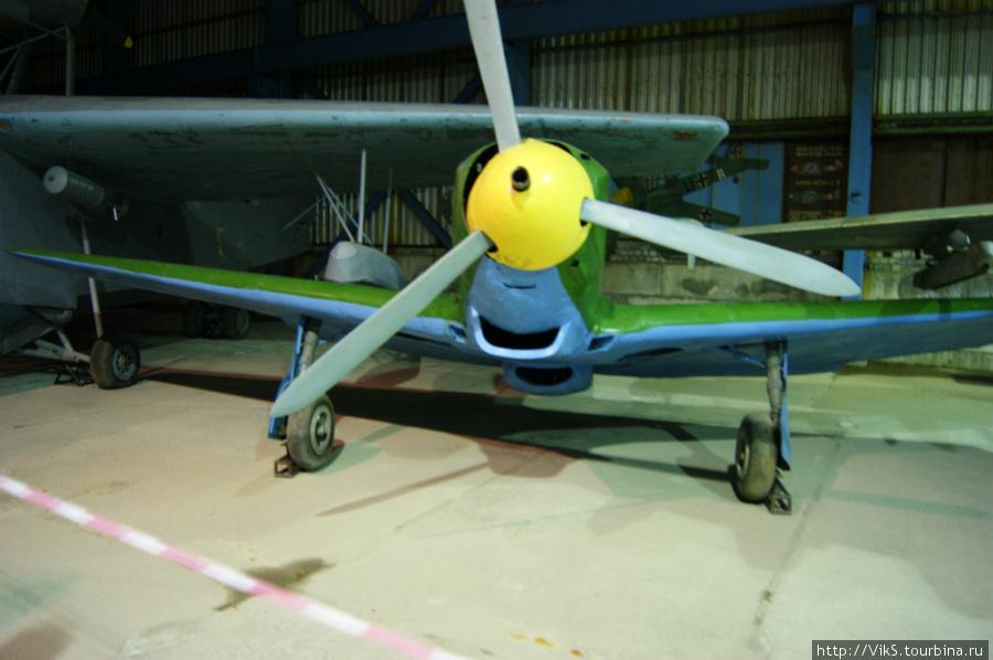 ЯК-7Б. Лучший советский истребитель времен войны.