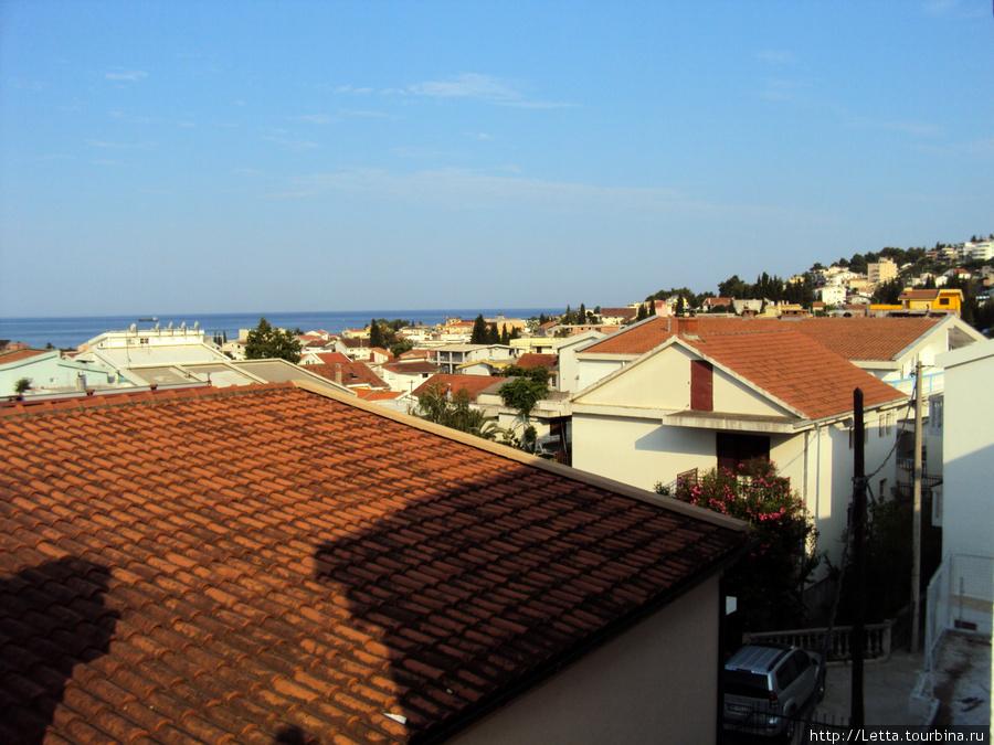 Знаменитые красные крыши Шушань, Черногория