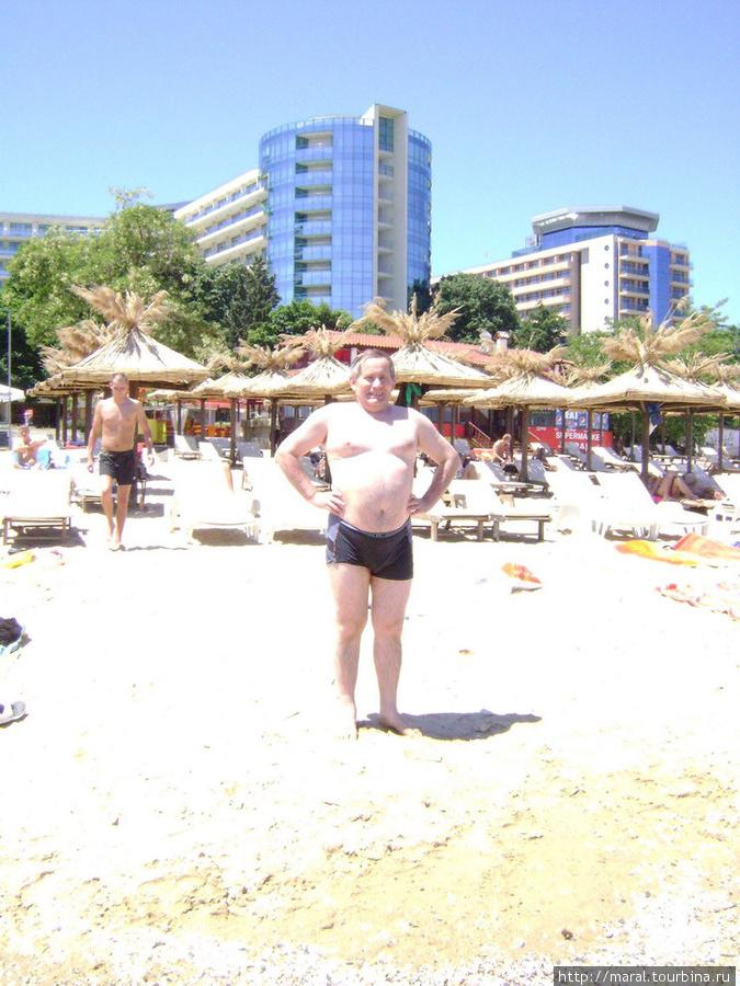 В отеле меня предупредили, что вода в море ещё холодная — всего двадцать градусов