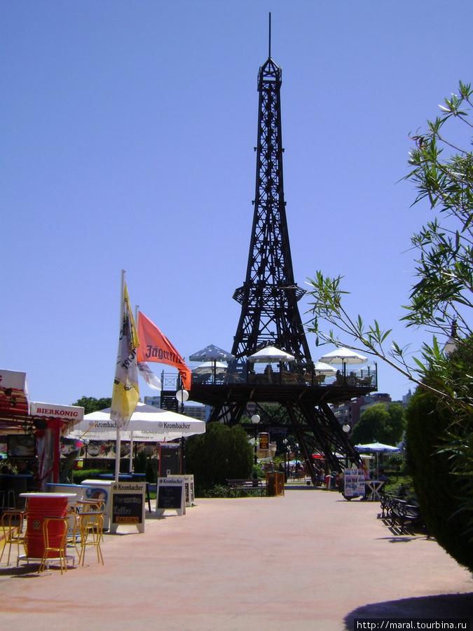 Зачем ехать в Париж, если Эйфелева башня и здесь есть?