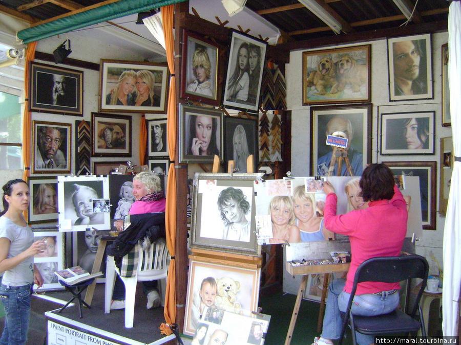 А художник напишет портрет