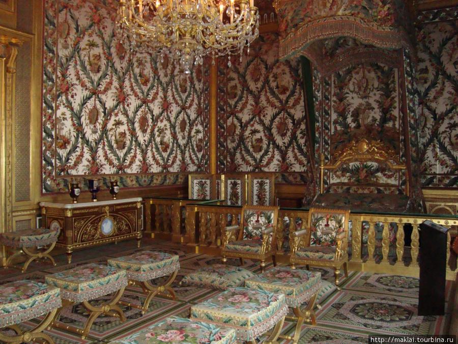 Замок Фонтенбло. Интерьер.